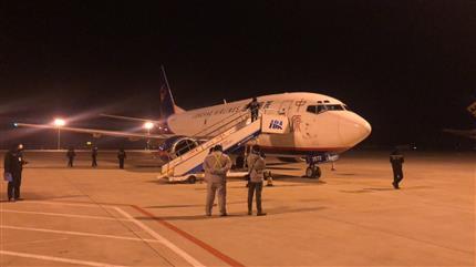 送去最亟需的防疫物资 中原龙浩航空再次包机抵达武汉